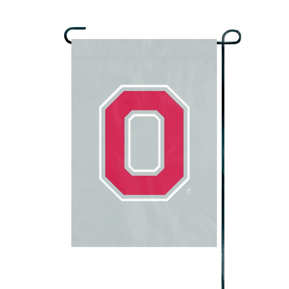 Party Animal NCAA Ohio State Buckeyes Garden Flag Full Size 18x12.5