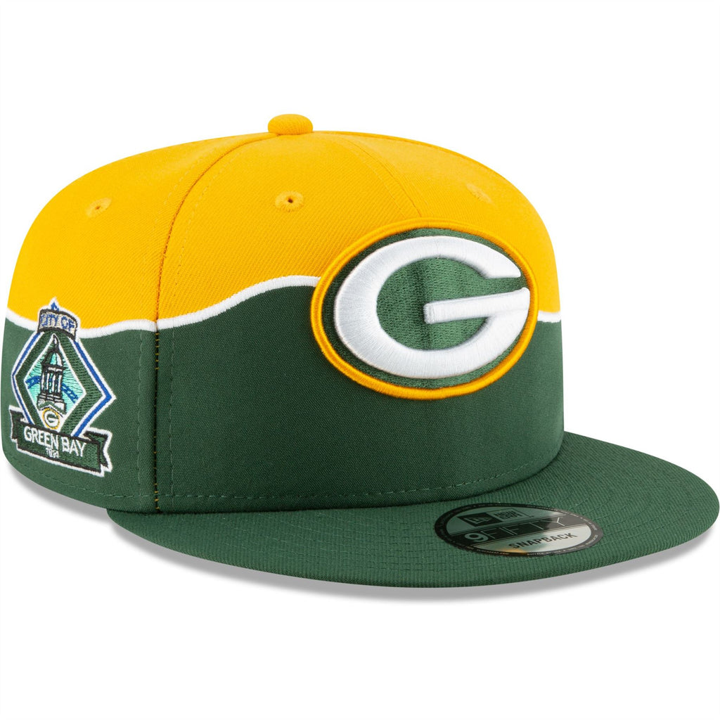 New Era NFL Men's Green Bay Packers 2019 NFL Draft On Stage Official 9FIFTY Adjustable Snapback Hat