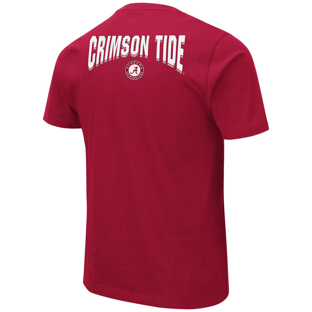 Colosseum NCAA Men's Alabama Crimson Tide Ullman T-Shirt