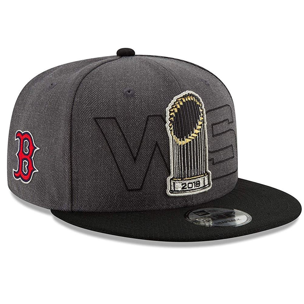 New Era MLB Men's Boston Red Sox 2018 World Series Champions Parade 9FIFTY Adjustable Snapback Hat