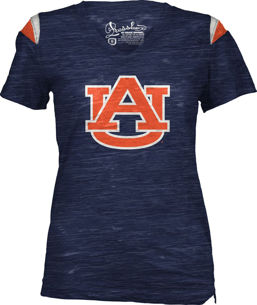 Pressbox NCAA Women's Auburn Tigers Billi V-Neck T-Shirt