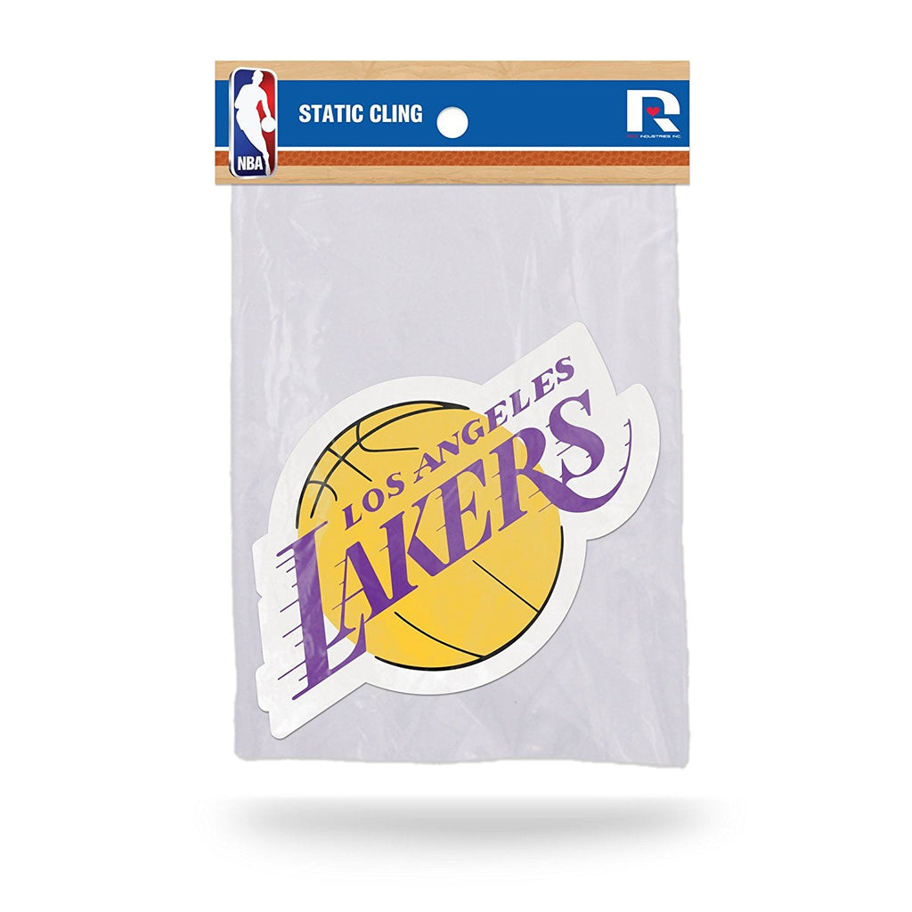 Rico NBA Los Angeles Lakers Shape Cut Static Cling Auto Decal Car Sticker Medium SSCM