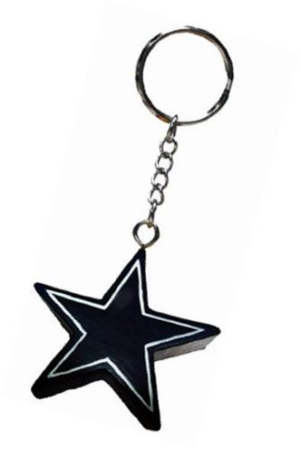 Foam Fanatics NFL Dallas Cowboys 4 in1 Foam Keychain Topper