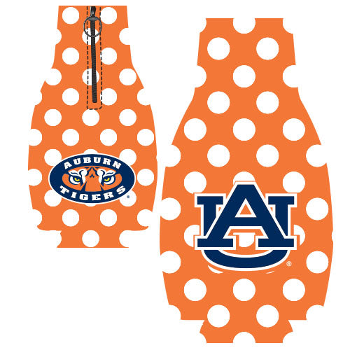 Jay Mac NCAA Auburn Tigers Bottle Suit Dots Orange