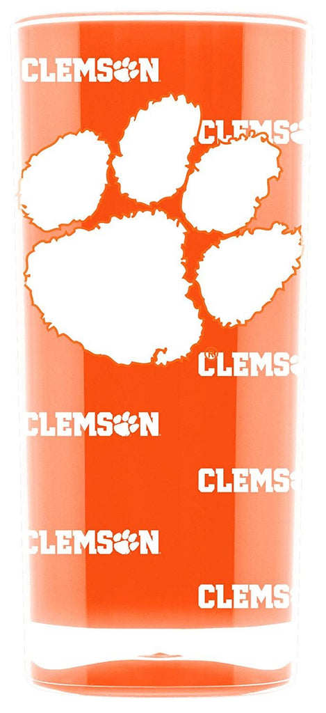 Duck House NCAA Clemson Tigers Insulated Square Tumbler Cup 16 oz.