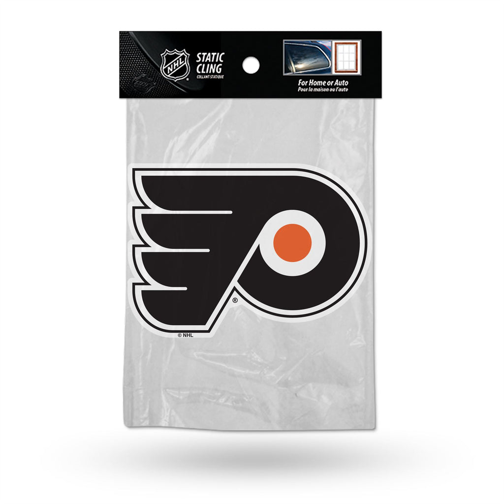 Rico NHL Philadelphia Flyers Shape Cut Static Cling Auto Decal Car Sticker Medium SSCM