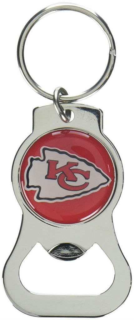 Aminco NFL Kansas City Chiefs Bottle Opener Keychain