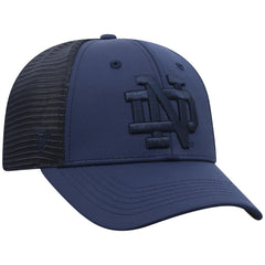 Top of The World NCAA Men's Notre Dame Fighting Irish Dayblaster Nightfall Stretch Hat Navy One Fit