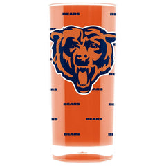 Duck House NFL Chicago Bears Insulated Square Tumbler Cup 16 oz.