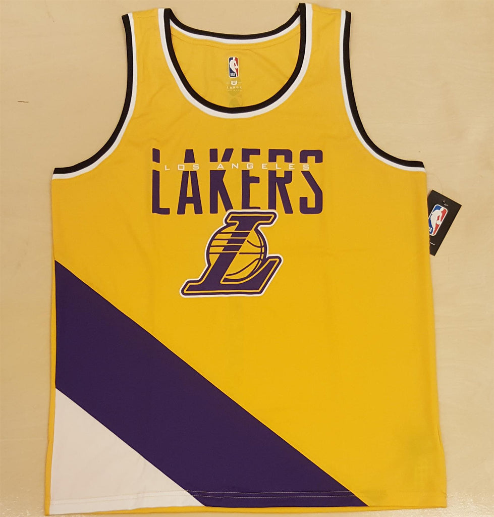 UNK NBA Men's Los Angeles Lakers Double Double Tank Top