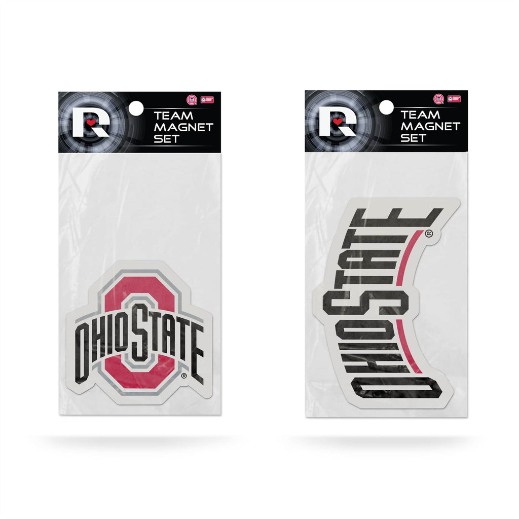 Rico NCAA Ohio State Buckeyes 2-Piece Magnet Set
