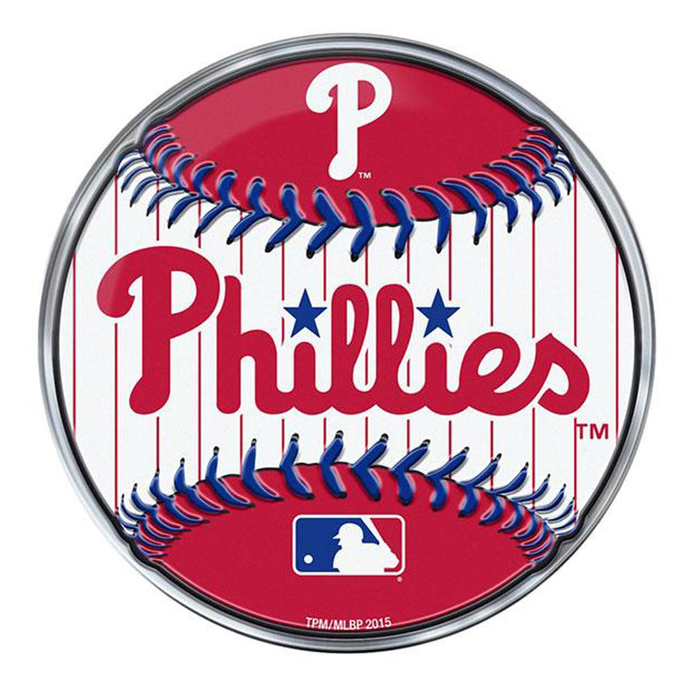 Team Promark MLB Philadelphia Phillies Baseball Team Auto Emblem