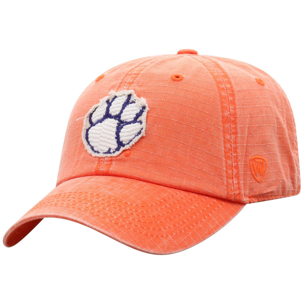 Top Of The World NCAA Men's Clemson Tigers Wave Adjustable Snapback Hat One Size Orange
