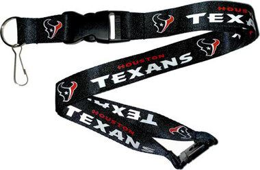 Aminco NFL Houston Texans Breakaway Lanyard Navy