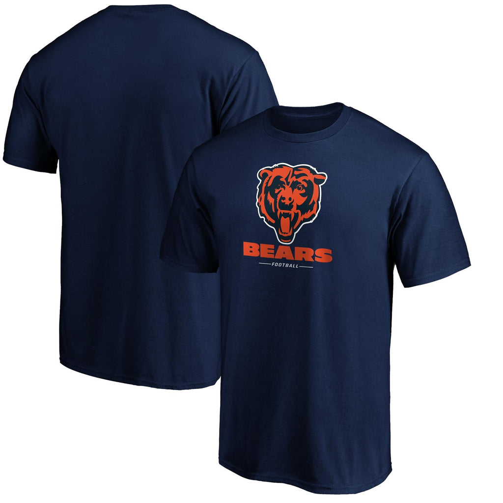 Fanatics Branded NFL Men's Chicago Bears Team Lockup Logo T-Shirt
