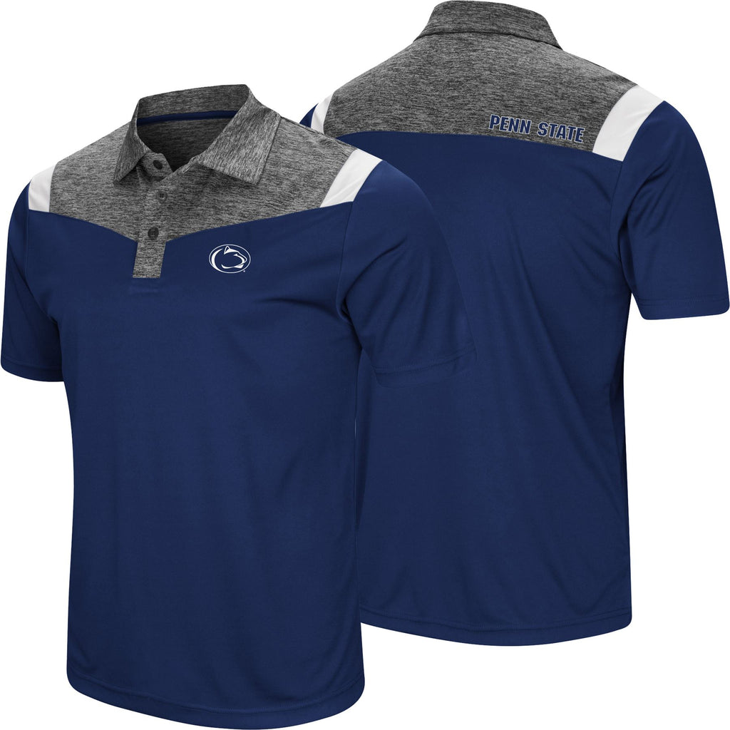 Colosseum NCAA Men's Penn State Nittany Lions Head Off Polo