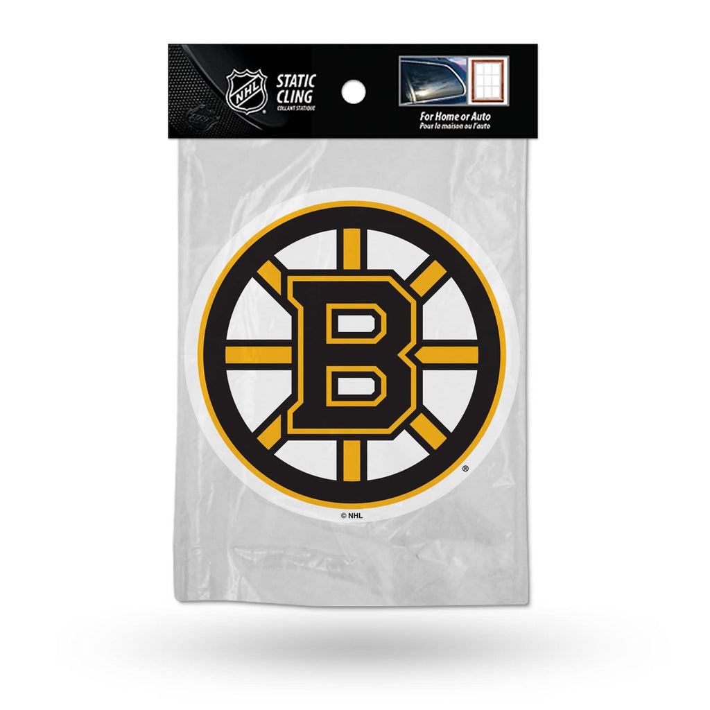 Rico NHL Boston Bruins Shape Cut Static Cling Auto Decal Car Sticker Medium SSCM
