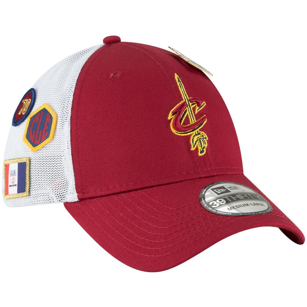 New Era NBA Men's Cleveland Cavaliers 2018 NBA Draft Hat 39THIRTY Flex Fit Hat