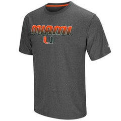 Colosseum NCAA Men's Miami Hurricanes Sleeper T-Shirt