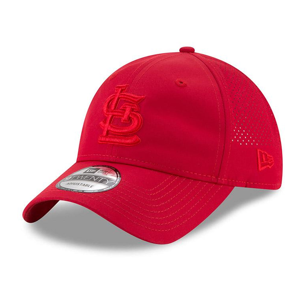 New Era MLB Men's St. Louis Cardinals Perforated Tone 9TWENTY Adjustable Hat