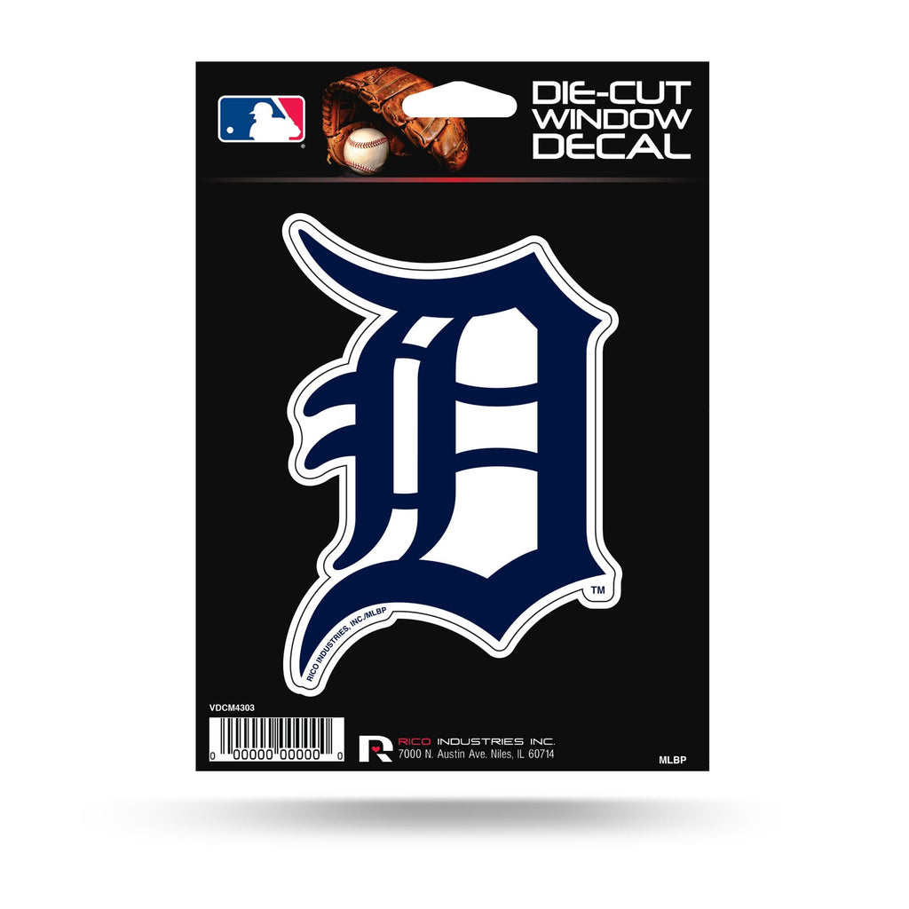 Rico MLB Detroit Tigers Die Cut Auto Decal Car Sticker Medium VDCM