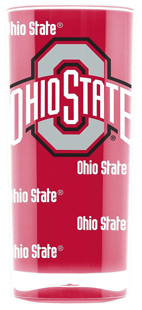 Duck House NCAA Ohio State Buckeyes Insulated Square Tumbler Cup 16 oz.