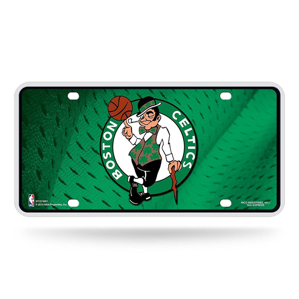 Rico NBA Boston Celtics Auto Metal Tag Car License Plate MTG