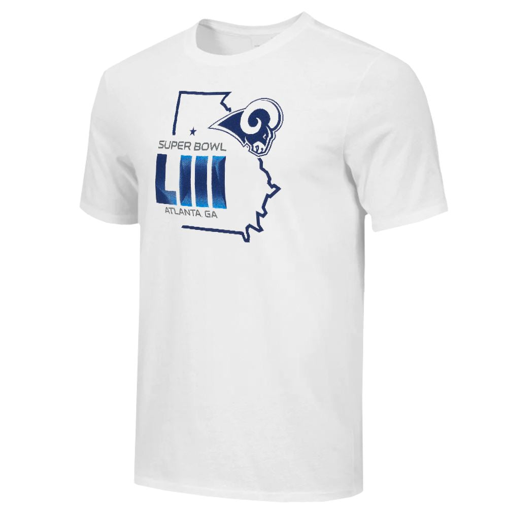 Fanatics NFL Men's Los Angeles Rams Super Bowl LIII Field Position T-Shirt
