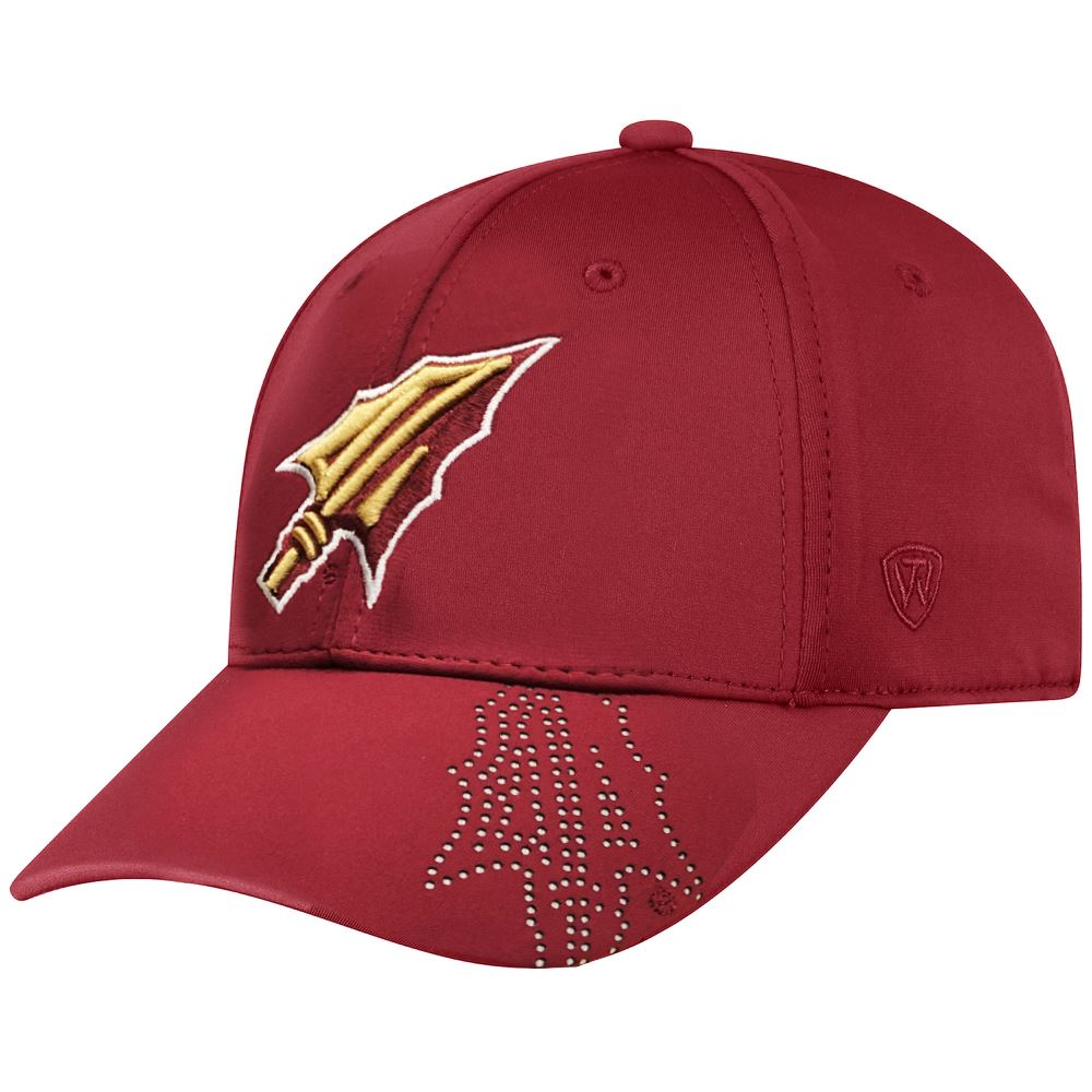 best service e86db 35440 Top Of The World NCAA Men s Florida State Seminoles Pitted Memory Fit Flex  Fit Hat Garnet