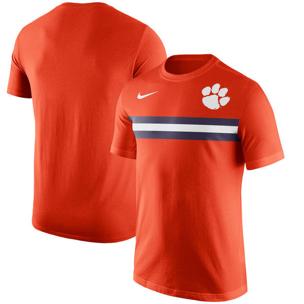 Nike NCAA Men's Clemson Tigers Team Stripe T-Shirt
