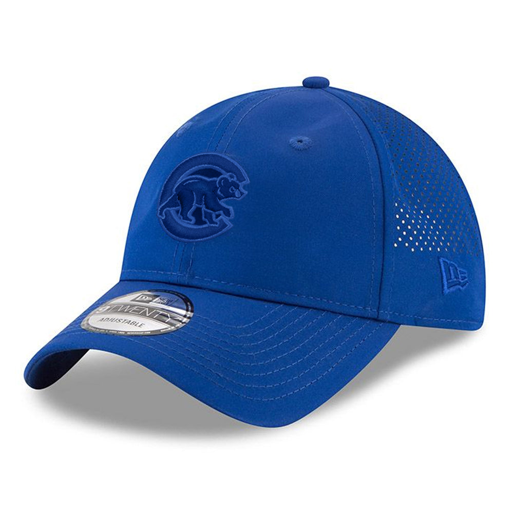 New Era MLB Men's Chicago Cubs Perforated Tone 9TWENTY Adjustable Hat