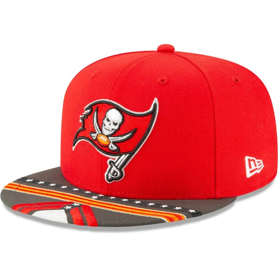 pretty nice 832dd d1fc9 New Era NFL Men s Tampa Bay Buccaneers 2019 NFL Draft On Stage Official  9FIFTY Adjustable Snapback