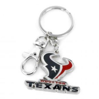 Aminco NFL Houston Texans Heavyweight Keychain