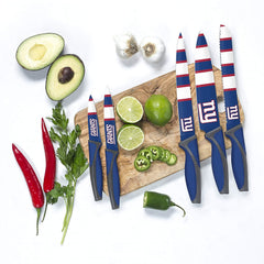 The Sports Vault NFL New York Giants Kitchen Knives Set