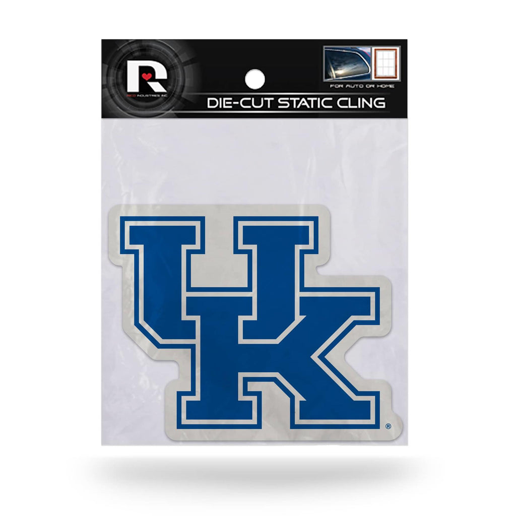 Rico NCAA Kentucky Wildcats Shape Cut Static Cling Auto Decal Car Sticker Medium SSCM