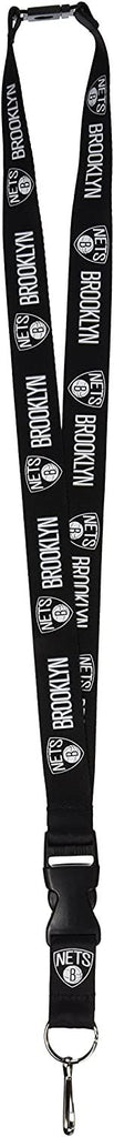 Aminco NBA Brooklyn Nets Breakaway Lanyard Black