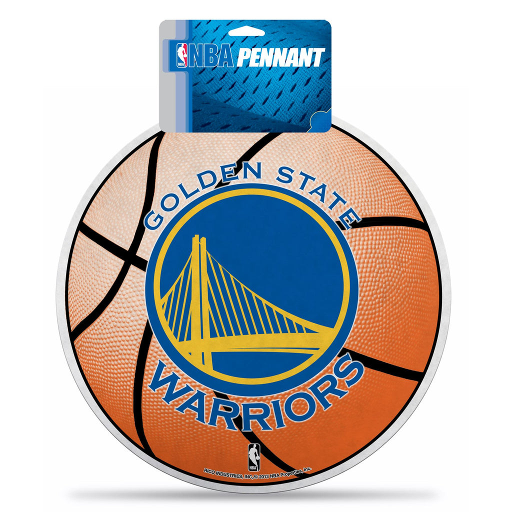 Rico NBA Golden State Warriors Die-Cut Pennant