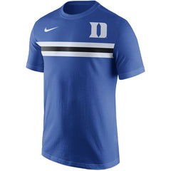 Nike NCAA Men's Duke Devils Team Stripe T-Shirt