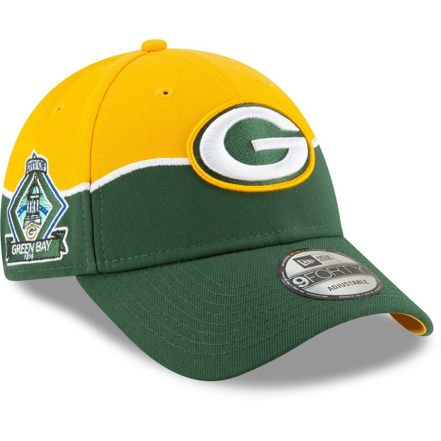 New Era NFL Men's Green Bay Packers 2019 NFL Draft On Stage Official 9FORTY Adjustable Hat