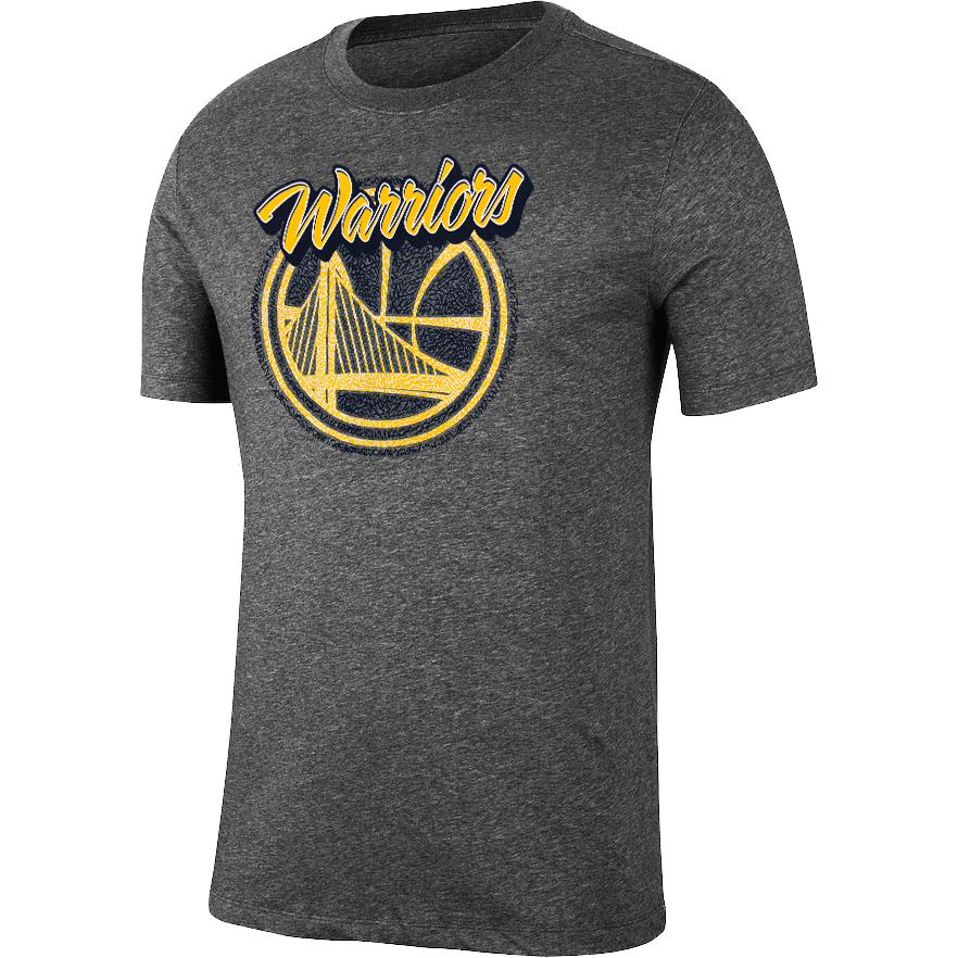UNK NBA Men's Golden State Warriors Elephant Print T-Shirt