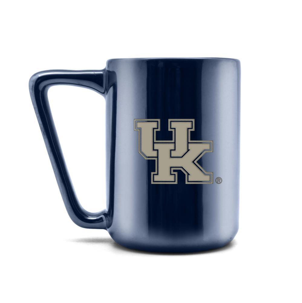 Duck House NCAA Kentucky Wildcats Laser Engraved Ceramic Mug 16 oz.