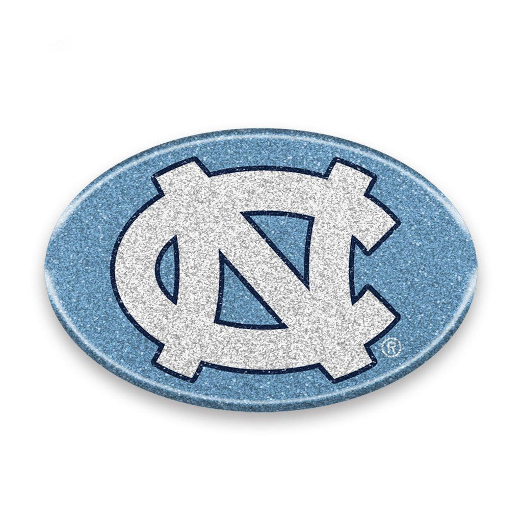 Team Promark NCAA North Carolina Tar Heels Team Flexible Bling Auto Emblem