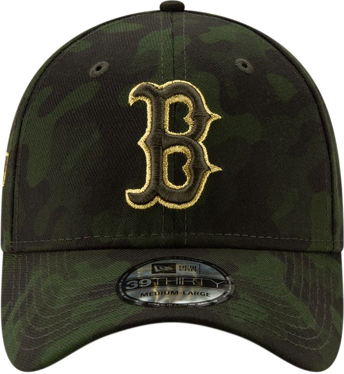 ce8cced61a3965 ... New Era MLB Men's Boston Red Sox Armed Forces Day On-Field 39THIRTY Flex  Fit ...