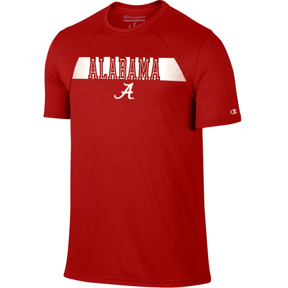 Champion NCAA Men's Alabama Crimson Tide School Line Training T-Shirt