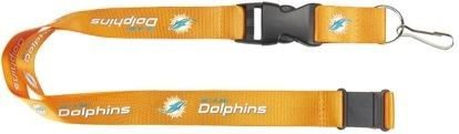 Aminco NFL Miami Dolphins Team Lanyard Orange