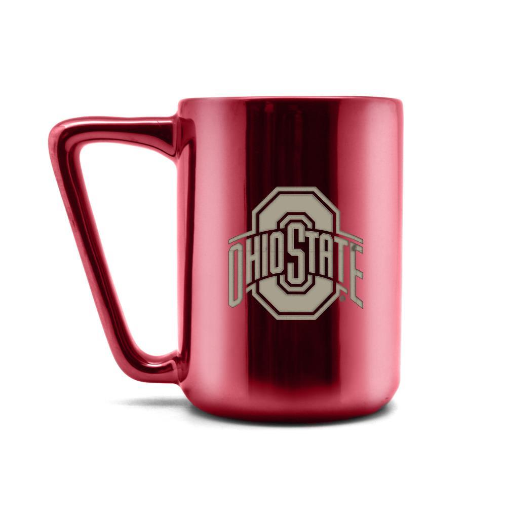 Duck House NCAA Ohio State Buckeyes Laser Engraved Ceramic Mug 16 oz.