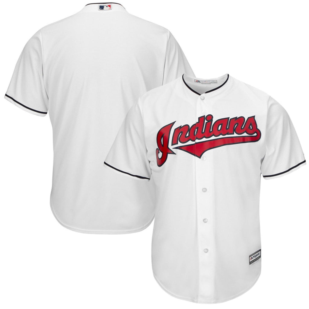 Majestic MLB Youth Cleveland Indians Home Replica Jersey