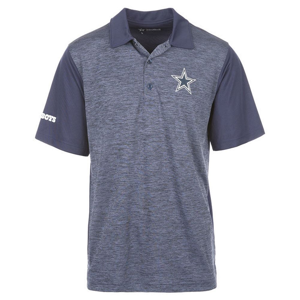 28f6645c2 DCM NFL Men s Dallas Cowboys KIP Polo T-Shirt – Sportzzone