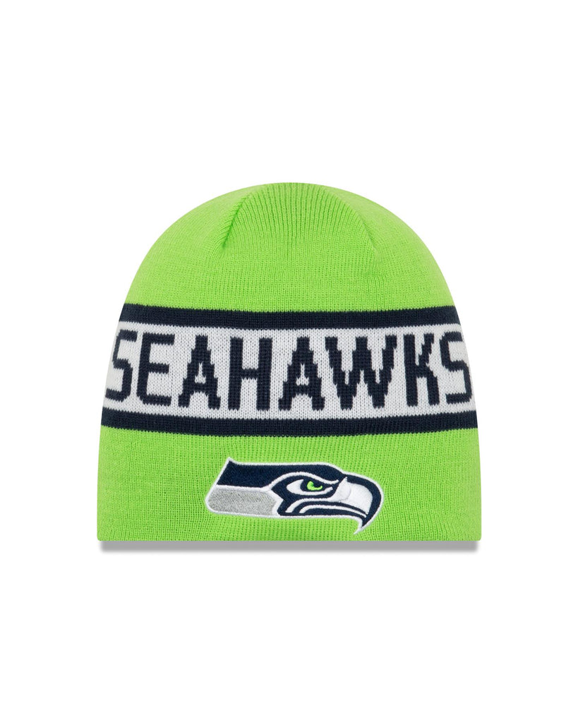 New Era NFL Seattle Seahawks Reversible Knit Beanie Blue/Green OSFA