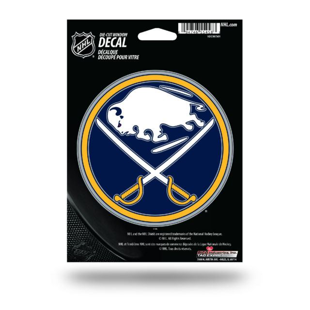 Rico NHL Buffalo Sabres Die Cut Auto Decal Car Sticker Medium VDCM